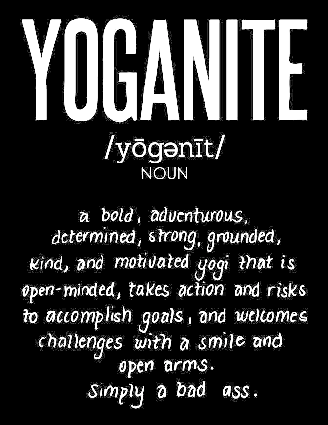What is a yoganite?